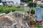 Odstranění staré lávky z parku Ostrov k semilskému zámku