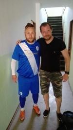 Jaroslav Dolejš při zápasech i při výletech s přítelkyní