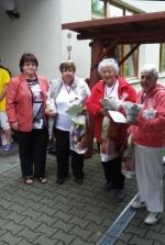Vítání léta uživatelů Zdravotně sociálních služeb Turnov a oddělení následné péče nemocnice Turnov