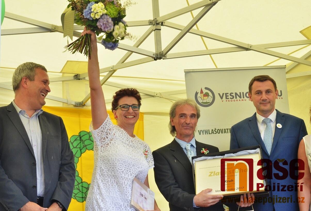 Vyhlášení soutěže Vesnice roku 2017 v Libereckém kraji v obci Kruh<br />Autor: Zdeněk Horák