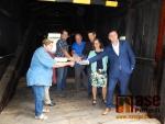 Slavnostní otevření mostu v Bystré nad Jizerou i pro automobily