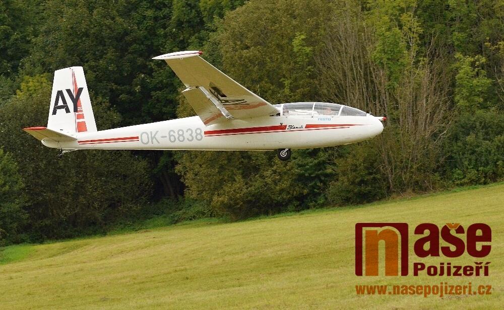 Den létání pro veřejnost v Krkonošském aeroklubu Vrchlabí