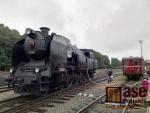 Den železnice na trutnovském nádraží
