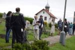 Prezentace obce Kruh před komisí v celostátním kole soutěže Vesnice roku