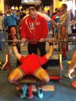 Powerlifting Animals Semily GPC na mistrovství světa v Trutnově - Jiří Lacina