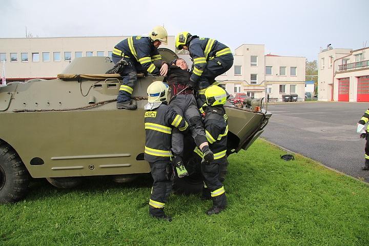 Soutěž profesionálních hasičů v poskytování první pomoci proběhla v Libereckém kraji<br />Autor: HZS Libereckého kraje