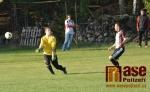 Utkání okresní fotbalové soutěže TJ Sokol Kruh - TJ Sokol Martinice