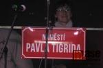 Slavnostní pojmenování náměstí Pavla Tigrida v Semilech
