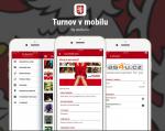 Aplikace Turnov v mobilu
