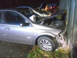Dvě dopravní nehody na silnici I. třídy I/13 u obce Kunratice u Cvikova