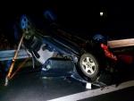 Střet dvou osobních automobilů v Ohrazenicích u Turnova