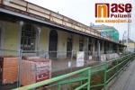 Na turnovském nádraží probíhá druhá etapa rekonstrukce hlavní budovy