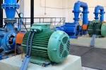 Úpravna vody Nudvojovice - čerpadla ve strojovně