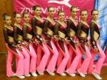 Družstva aerobiku uspěla na nominačních závodech v Kladně