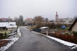 Otevření části rekonstruované silnice v Nové Vsi nad Popelkou