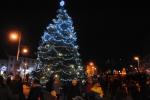 Rozsvícení vánočního stromu v Semilech 2017