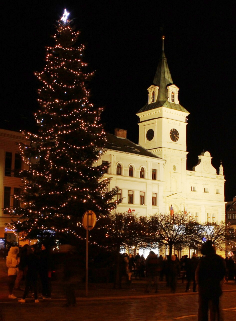 Slavnostní rozsvícení vánočního stromu v Turnově<br />Autor: Anna Šupíková