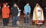 FOTO: V Libštátě slavnostně posvětili restaurovanou sochu Panny Marie