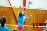 Mikulášský turnaj žactva ve volejbale ve Sportovním centru Semily