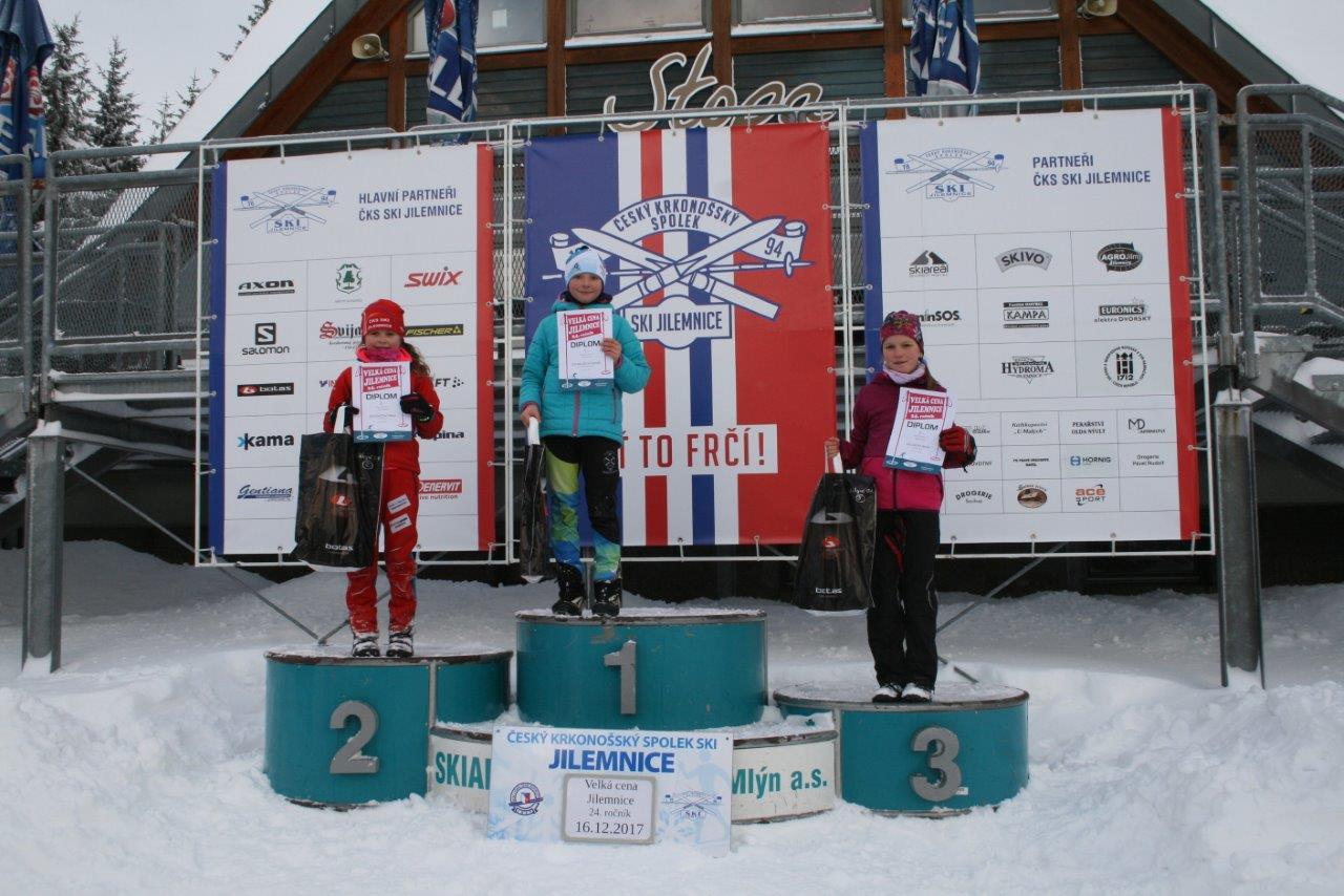 Velká cena Jilemnice v běhu na lyžích 2017<br />Autor: Archiv ČKS SKI Jilemnice