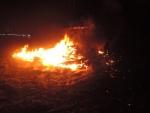 Požár chatky v Raspenavě v ulici Hejnická