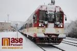 Zastavené vlaky ve stanici Semily