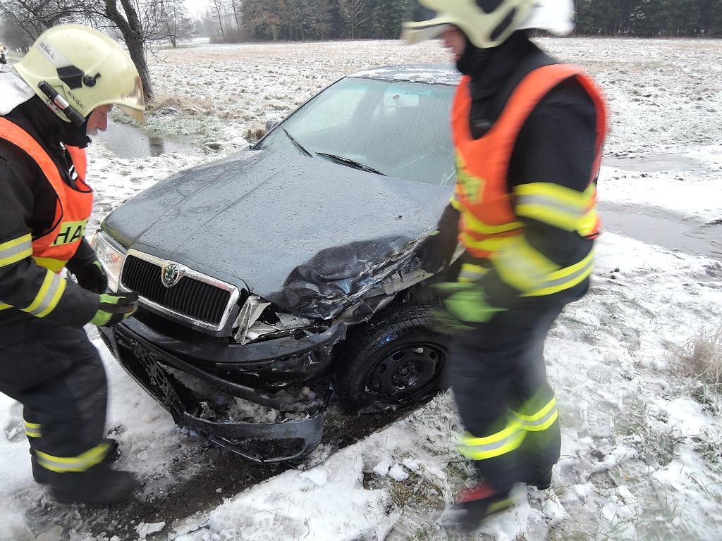 Nehoda Dolní Řasnice<br />Autor: HZS Libereckého kraje, stanice Raspenava
