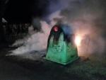 Policisté pátrají po žháři, který v Turnově roztavil čtyři kontejnery