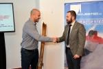 Podpis smlouvy Tibor Batthyány a Čeněk Jílek