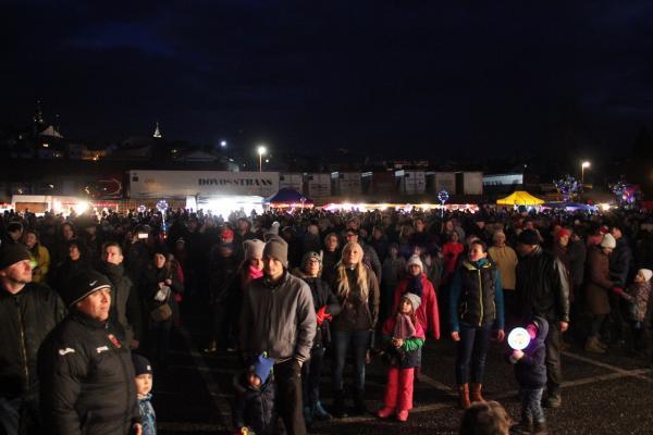 Novoroční ohňostroj v Turnově 2018<br />Autor: Anna Šupíková