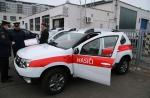 Předání čtyřkolek Dacia Duster krajským hasičům