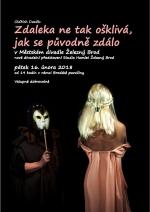 Plakát Ošklivka na Brodské pavučině