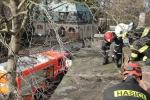 Zásahy hasičů kvůli silnému větru v Libereckém kraji