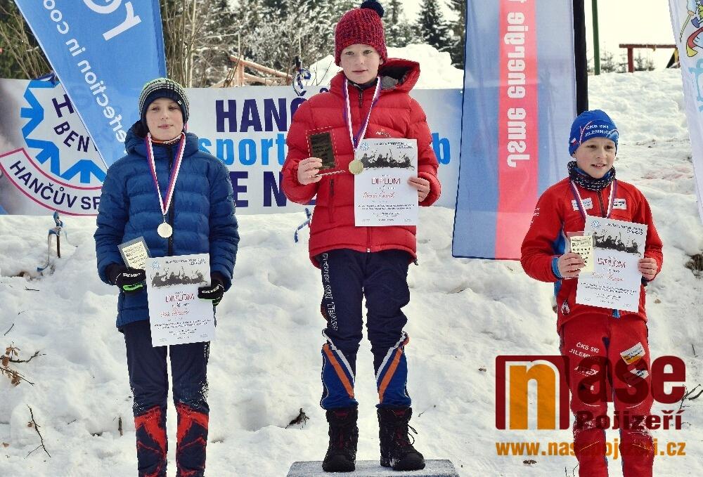 Mezikrajské závody v běhu na lyžích žactva Liberecka a Královéhradecka<br />Autor: Zdeněk Horák