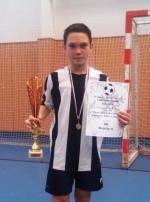 Nejlepší hráč turnaje Filip Schilte (SK Semily)