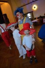 Dětský karneval v kulturním domě v Libštátě