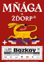 Kapela Mňága a žďorp zavítá v dubnu do bozkovské sokolovny