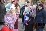 FOTO: Komenského náměstí v Semilech i v roce 2018 oživil masopust