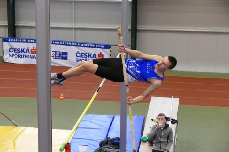 Krajské přebory atletů v jablonecké hale<br />Autor: Archiv AC Turnov