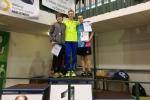 Krajské přebory atletů v jablonecké hale