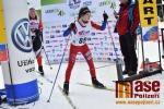 Mistrovství České republiky žactva v běhu na lyžích se jelo na tratích v Harrachově - Lucie Paulusová