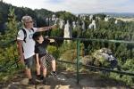 Turisté v Hruboskalsku