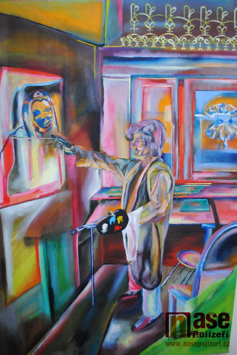Vernisáž výstavy Mezi dvěma skly ve Státním okresním archivu v Semilech<br />Autor: Petr Ježek