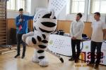 FOTO: Olympionici Svoboda a Kučerová trénovali s dětmi v Benešově