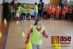 Trénink s olympionikem ve škole v Benešově u Semil
