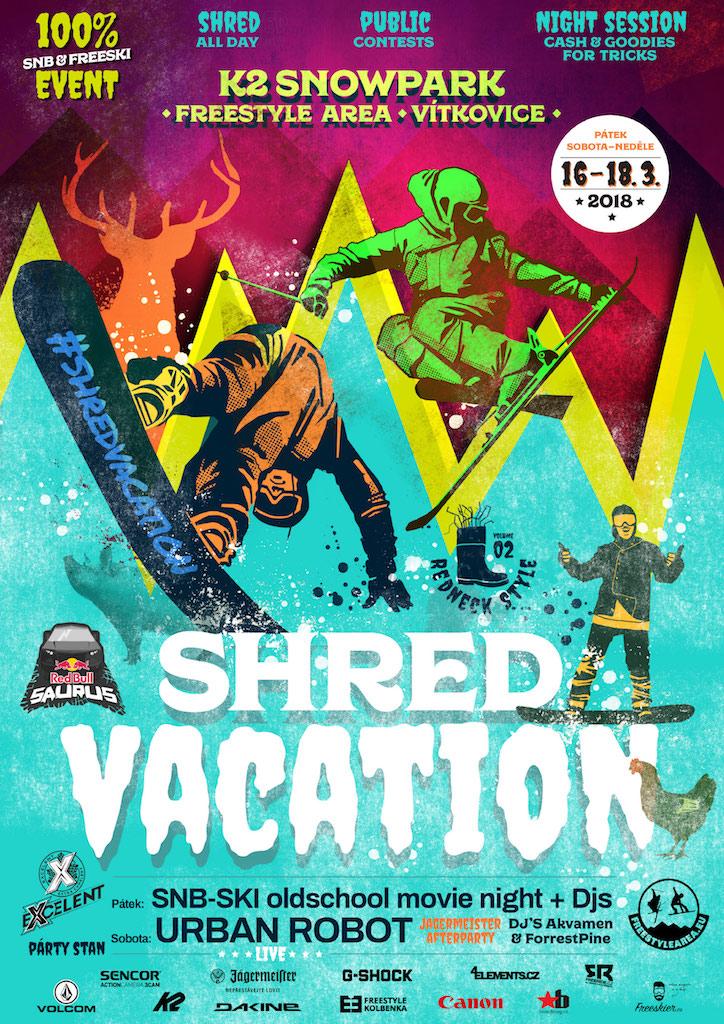 Plakát na letošní ročník<br />Autor: Archiv Shred Vacation