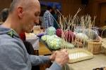 Multimediální sál Krajského úřadu znovu ožil Velikonočními trhy