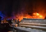 Požár pily v Roztokách u Semil