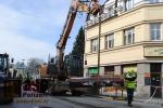 Oprava Palackého ulice v Turnově
