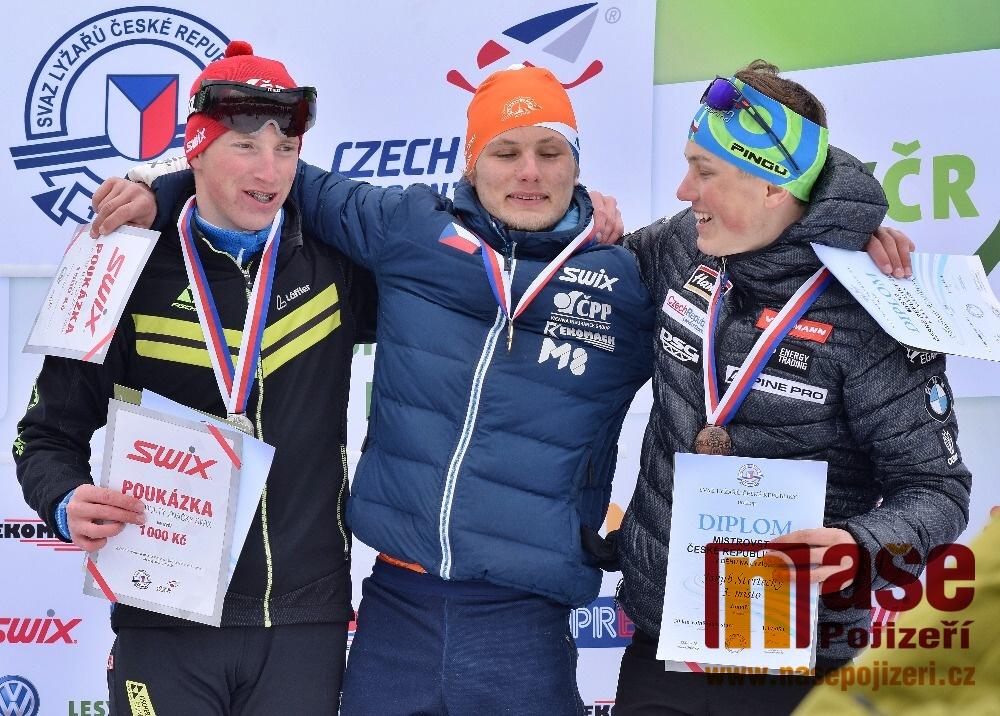 Mistrovství České republiky v běhu na lyžích dorostu a dospělých 2018<br />Autor: Zdeněk Horák